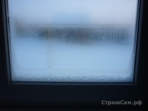 Пластиковые окна промерзают снизу
