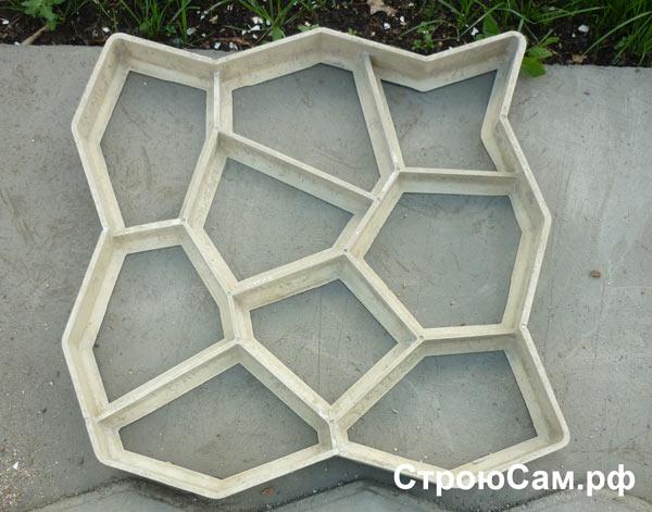 Пластиковая форма для бетона