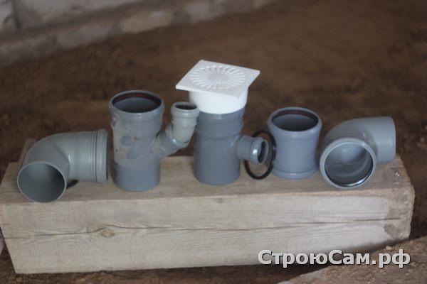 Уголки, муфты и отводы для трубы ПВХ