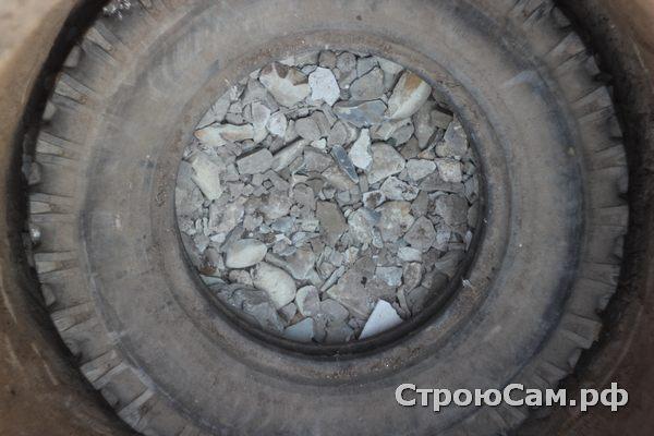 Сливная яма для бани дреннаж