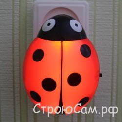 Ночники для детской комнаты фото